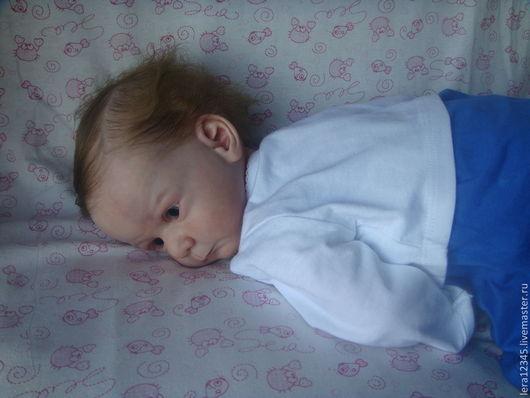 Куклы-младенцы и reborn ручной работы. Ярмарка Мастеров - ручная работа. Купить Маруся. Handmade. Бежевый, генезис