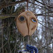 Куклы и игрушки ручной работы. Ярмарка Мастеров - ручная работа Интерьерная кукла - часы ПтиЦын в чердачном стиле. Handmade.