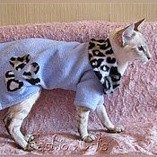 """Для домашних животных, ручной работы. Ярмарка Мастеров - ручная работа Флиски - """"Любимой кошке"""". Handmade."""