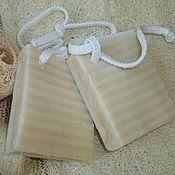 Косметика ручной работы. Ярмарка Мастеров - ручная работа Мыло с люфой. Натуральное мыло из растительных масел. Handmade.