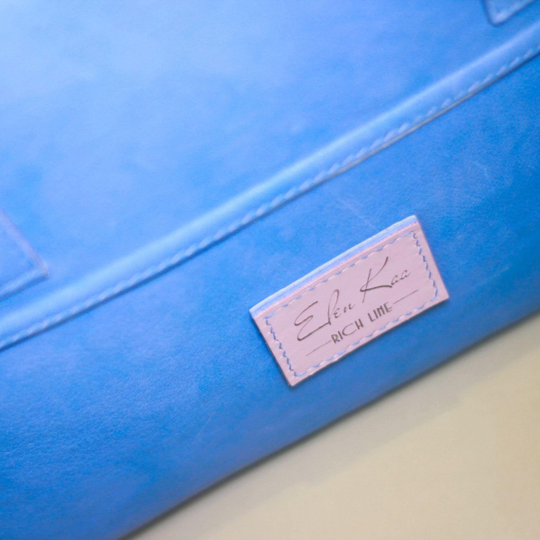 """Кожаный чемодан для ручной клади""""Флорида"""""""