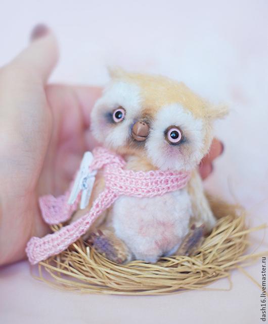 Мишки Тедди ручной работы. Ярмарка Мастеров - ручная работа. Купить Мия сова коллекционная авторская игрушка мишка тедди. Handmade.