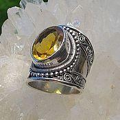 Украшения handmade. Livemaster - original item Ring with citrine. Handmade.