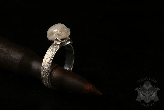 Кольца ручной работы. Ярмарка Мастеров - ручная работа. Купить Dead Pearl. Handmade. Кольца ручной работы, жемчуг натуральный