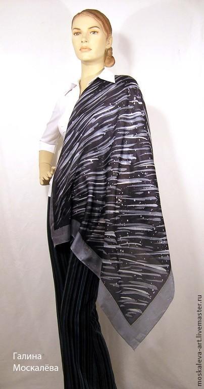 платок шелковый,платок с росписью, красивый платок, подарок для девушки, подарок для женщины, элегантный подарок, подарок учителю, шелковый платок, батик платок, подарок подруге, подарок маме, подарок