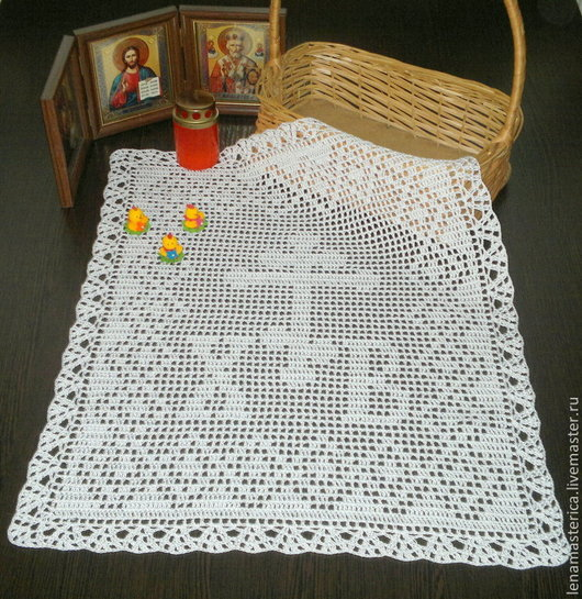 Текстиль, ковры ручной работы. Ярмарка Мастеров - ручная работа. Купить Пасхальное полотенце, пасхальная салфетка, пасха, пасхальный декор. Handmade.