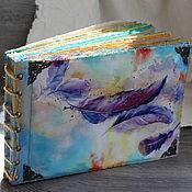 Канцелярские товары handmade. Livemaster - original item Tropical dream photo album with Your photos. Handmade.