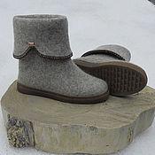 Обувь ручной работы handmade. Livemaster - original item Women`s felted boots. Handmade.