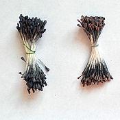 Материалы для творчества handmade. Livemaster - original item Stamens of roses, shades of brown. Handmade.