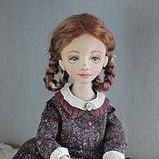 Куклы и пупсы ручной работы. Ярмарка Мастеров - ручная работа Текстильная кукла, Оленька. Handmade.