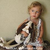 Куклы и игрушки ручной работы. Ярмарка Мастеров - ручная работа Кроль БО валянный. Handmade.