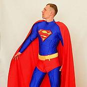 Одежда handmade. Livemaster - original item Superman. Scenic suit/Cosplay/Carnival costume. Handmade.