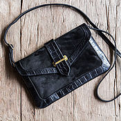 Сумки и аксессуары handmade. Livemaster - original item Bag made of genuine leather in Valencia. Handmade.