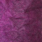 Carded Wool handmade. Livemaster - original item Mix of Gotland Cardoons NC.Pink and grey. Germany.Wool for felting.. Handmade.