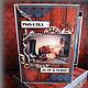 """Открытки для мужчин, ручной работы. Ярмарка Мастеров - ручная работа. Купить Открытка-мини-альбом в коробочке """"РЫБАЛКА - ДЕЛО КЛЁВОЕ!"""". Handmade."""