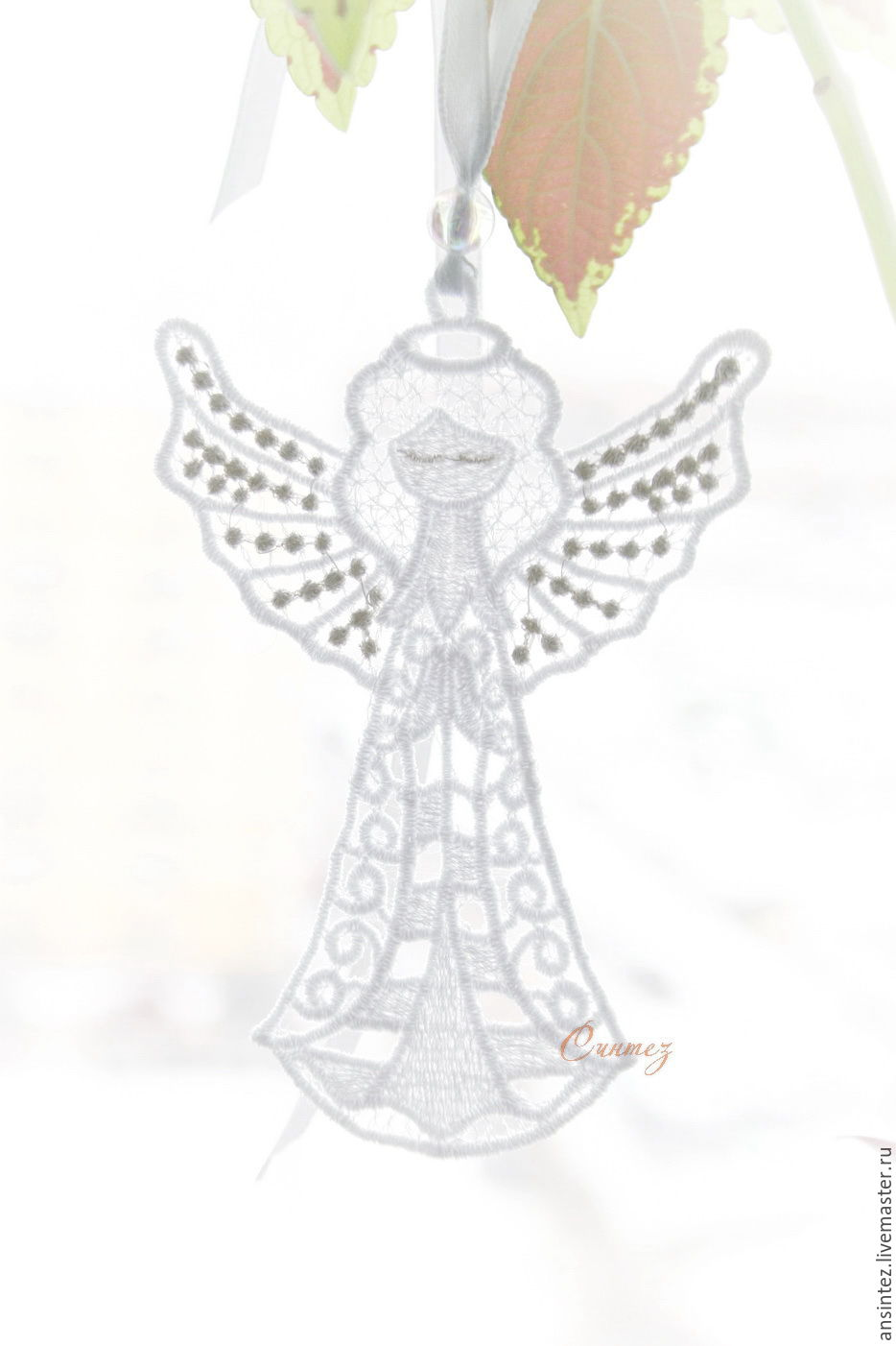 Angel of happiness with silver wings pendant For Mobile Toy 10pcs, Pendants for pots, Moscow,  Фото №1