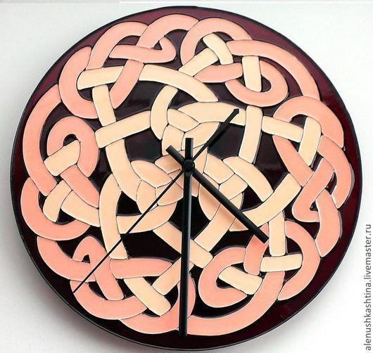 """Часы для дома ручной работы. Ярмарка Мастеров - ручная работа. Купить Часы настенные """"Гордиев узел"""". Handmade. Часы, узел"""