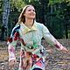 """Верхняя одежда ручной работы. Ярмарка Мастеров - ручная работа. Купить Пальто """"Жизнь в красках"""". Handmade. Абстрактный, краски"""