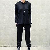 Одежда handmade. Livemaster - original item Women`s knitted suit Black to. Handmade.