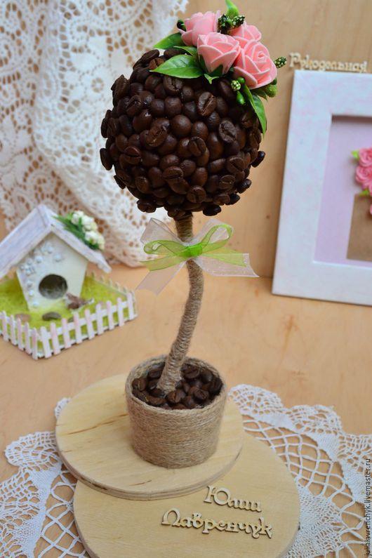 Топиарий Кофейное дерево. Юлия Лавренчук  Больше работ http://vk.com/julialavrenchyk