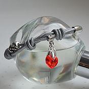 Украшения handmade. Livemaster - original item Bracelet leather