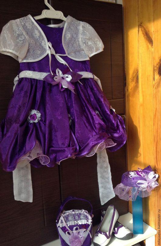 Карнавальные костюмы ручной работы. Ярмарка Мастеров - ручная работа. Купить Очень красивый наряд для девочки. Handmade. Тёмно-фиолетовый