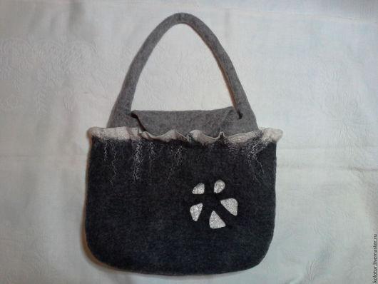 Женские сумки ручной работы. Ярмарка Мастеров - ручная работа. Купить Сумка. Handmade. Серый, сумка ручной работы