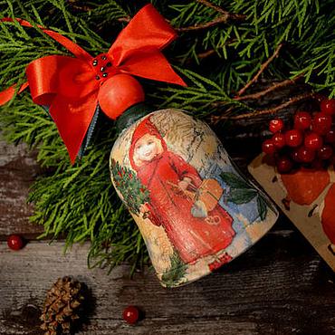 Подарки к праздникам handmade. Livemaster - original item bell Christmas. Handmade.