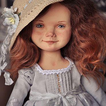 Куклы и игрушки ручной работы. Ярмарка Мастеров - ручная работа ЛАСТОЧКА Коллекционная кукла ручной работы. Handmade.