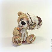 Куклы и игрушки ручной работы. Ярмарка Мастеров - ручная работа Аромат шоколада, или еще один мишка :). Handmade.