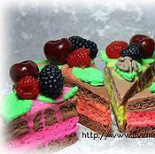 """Косметика ручной работы. Ярмарка Мастеров - ручная работа Мыло """" Кусочек торта"""". Handmade."""