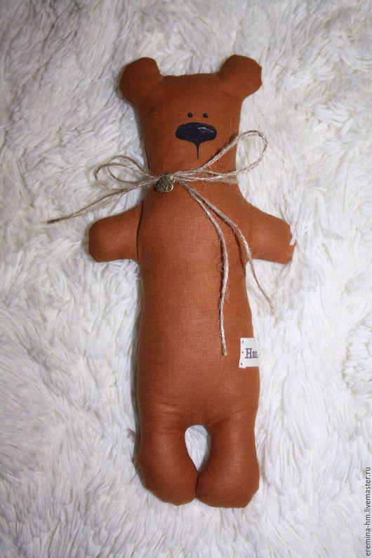 Ароматизированные куклы ручной работы. Ярмарка Мастеров - ручная работа. Купить Ароматизированный медведь. Handmade. Коричневый, игрушка ручной работы