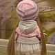 Коллекционные куклы ручной работы. Текстильная куколка ручной работы Викуся. Юлия Соколова. Ярмарка Мастеров. Кукла в подарок, трикотаж