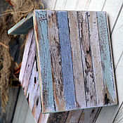 """Для дома и интерьера ручной работы. Ярмарка Мастеров - ручная работа Старый скворечник- ключница """"Гнездо"""", для дачи, для дома. Handmade."""