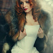 Одежда handmade. Livemaster - original item Shaper corset white. Handmade.