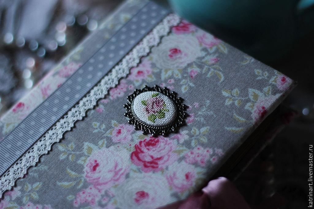 """Блокноты ручной работы. Ярмарка Мастеров - ручная работа. Купить Блокнот """"Розы"""". Handmade. Блокнот, блокнот для эскизов, Блокнот для женщины"""