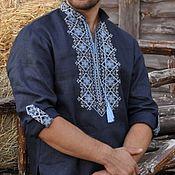 Народные рубахи ручной работы. Ярмарка Мастеров - ручная работа Мужская рубаха. Handmade.