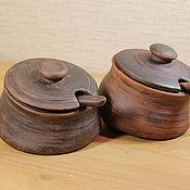 Посуда ручной работы. Ярмарка Мастеров - ручная работа Солонка. Handmade.