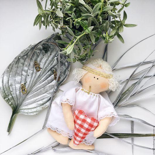 Коллекционные куклы ручной работы. Ярмарка Мастеров - ручная работа. Купить Рождественский Ангел. Handmade. Белый, хендмейд, благотворительность