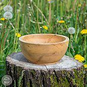 Для дома и интерьера handmade. Livemaster - original item Salad bowl Wooden 200#40. Handmade.
