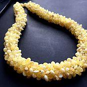 Украшения handmade. Livemaster - original item Necklace made of natural amber