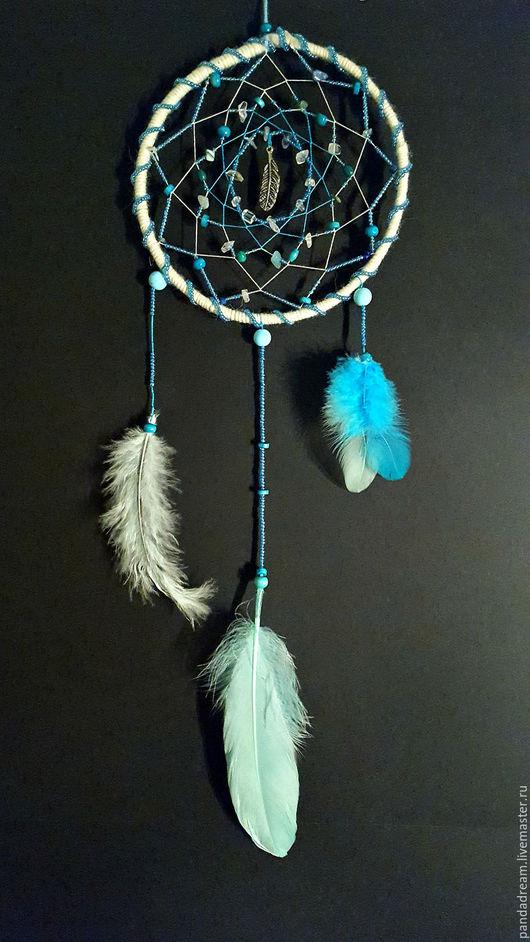 Ловцы снов ручной работы. Ярмарка Мастеров - ручная работа. Купить Like a Feather. Handmade. Голубой, ловец сновидений