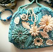 """Сумки и аксессуары handmade. Livemaster - original item Bag """"Turquoise mood"""". Handmade."""