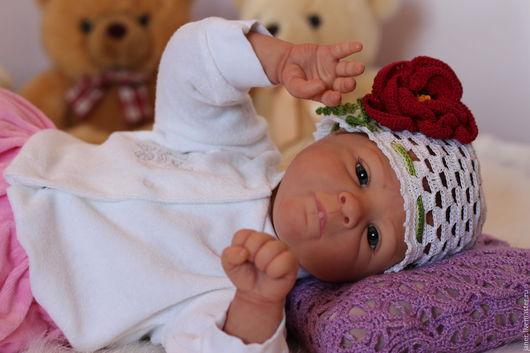Куклы-младенцы и reborn ручной работы. Ярмарка Мастеров - ручная работа. Купить Принцесска. Кукла-реборн. Handmade. Бежевый, генезис