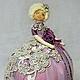 Нарядная кукла-грелка на чайник-прекрасный практичный  и красивый подарок) Сделайте Ваше чаепитие приятным!