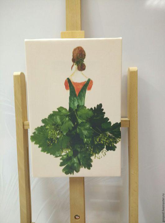 Картины цветов ручной работы. Ярмарка Мастеров - ручная работа. Купить Хозяюшка 1. Handmade. Белый, кухонный интерьер, квартира