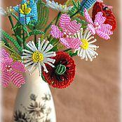 Цветы и флористика ручной работы. Ярмарка Мастеров - ручная работа Летний букет (2). Handmade.
