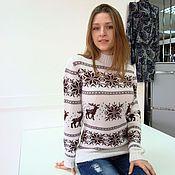 Пуловеры ручной работы. Ярмарка Мастеров - ручная работа Для любимой доченьки. Handmade.