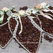 Для дома и интерьера ручной работы. Ярмарка Мастеров - ручная работа Кофейное сердечко. Handmade.