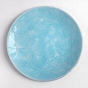 Посуда ручной работы. Ярмарка Мастеров - ручная работа Тарелка «Отражение». Handmade.
